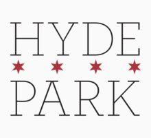 Hyde Park Neighborhood Tee by Chicago Tee