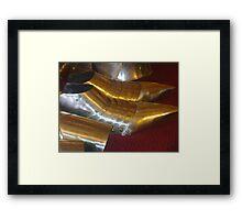 old shoes Framed Print