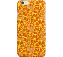 Orange Slices Pattern iPhone Case/Skin