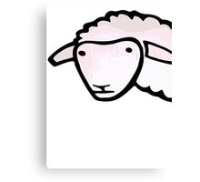 Sheep - Street art Canvas Print