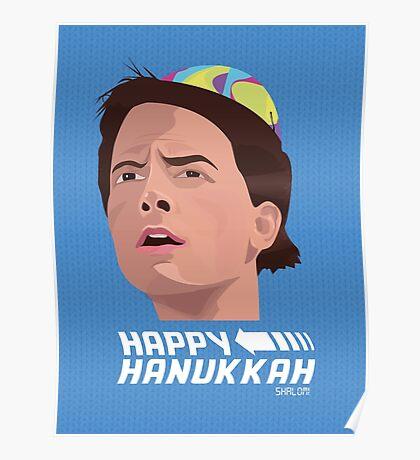 BACK TO THE FUTURE HANUKKAH Poster