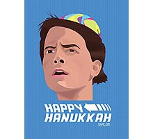 BACK TO THE FUTURE HANUKKAH Photographic Print