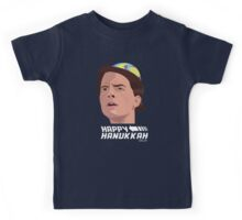 BACK TO THE FUTURE HANUKKAH Kids Tee