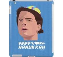 BACK TO THE FUTURE HANUKKAH iPad Case/Skin