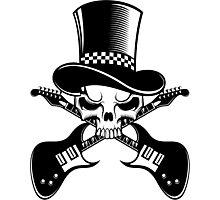 Heavy Metal - Alternative music band logo Photographic Print