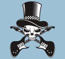 Heavy Metal - Alternative music band logo Kids Clothes