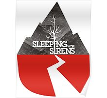 Sleeping with sirens music mountain Poster