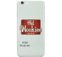 Old Wookiee iPhone Case/Skin