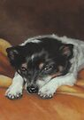 Sleepy Boo by Pam Humbargar