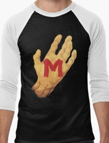 M Men's Baseball ¾ T-Shirt