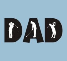 Golf Dad by FamilyT-Shirts