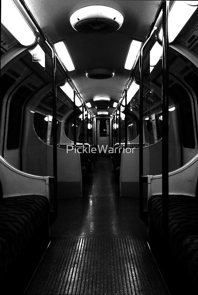 Midnight train by PickleWarrior