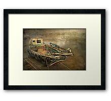 Bridlington Boats Framed Print