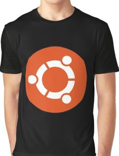 Ubuntu 1-Colour Logo Graphic T-Shirt