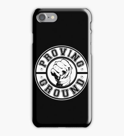 Proving Ground Logo iPhone Case/Skin