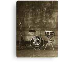 Heavy Metal Music Co. Canvas Print