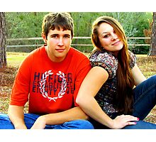 cute couple! Photographic Print