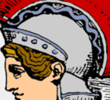 Athena/Minerva - color Sticker