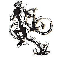 Cyclocross mud Photographic Print