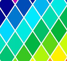 Tetrahedral Rainbow by helveticate