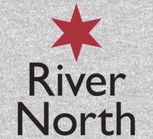 River North Neighborhood Tee by Chicago Tee