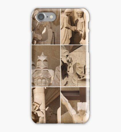 Barcelona - Sagrada Familia Sculptures iPhone Case/Skin