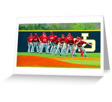 visiting team Greeting Card