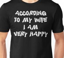 Funny Married Unisex T-Shirt