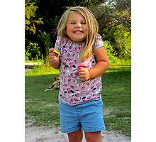 smiley baby! Photographic Print