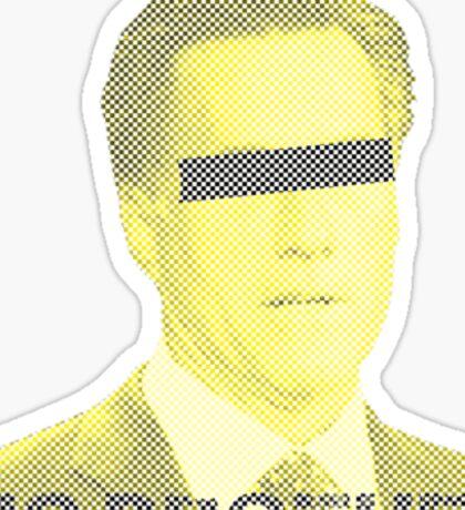 Mitt Romney big brother 2012 vintage Sticker