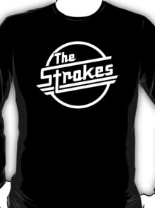 The Strokes Rock Band Black T-Shirt