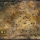 Crows attack by Anki Hoglund