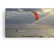 Orange Sail Canvas Print