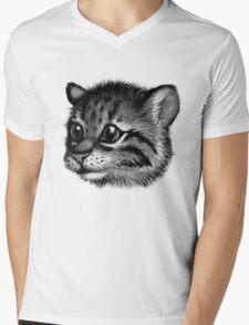 LIGER Mens V-Neck T-Shirt