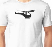 Helicopter pilot aviation Unisex T-Shirt