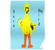 Save Big Bird Poster