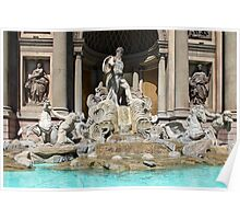 Trevi Fountain ~ Caesar's Palace Poster