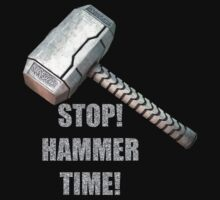 Stop, Hammer Time! by Raymond Doyle