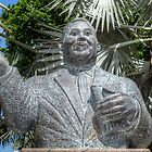 His Excellency Sir Milo Boughton Butler Statue in Nassau, The Bahamas by 242Digital