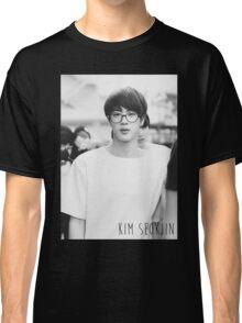 BTS/Bangtan Sonyeondan - Black & White Jin Classic T-Shirt