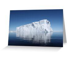 Iceberg - Antartica Greeting Card
