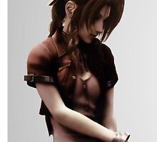 Aerith Gainsborough by spyderjava