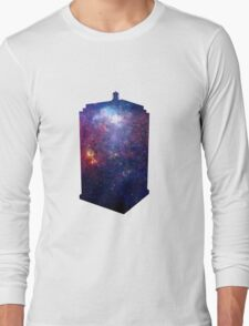 Police Box Space Long Sleeve T-Shirt