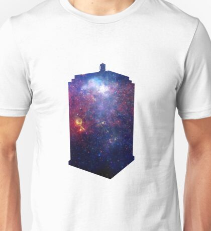 Police Box Space Unisex T-Shirt