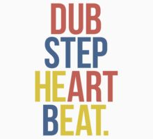 Dubstep Heart Beat. (Pun) Kids Tee
