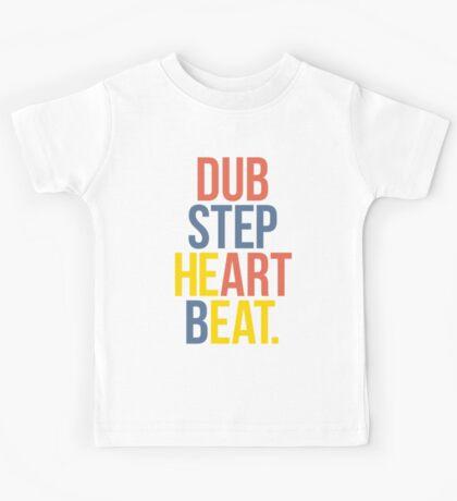 Dubstep Heart Beat. (Pun) Kids Tee