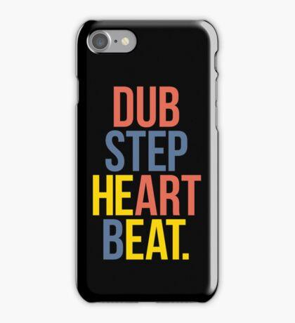 Dubstep Heart Beat. (Pun) iPhone Case/Skin