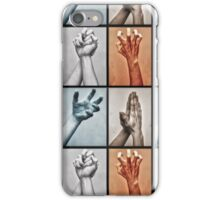Hands Signals iPhone Case/Skin