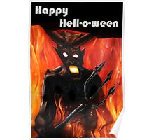 Happy Hell-O-Ween! Poster