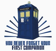 You Never Forget Your First Companion - Tardis by who-am-i